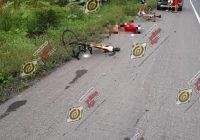 Tecomán: ciclista muere atropellado en pleno acotamiento, frente al crucero de Caleras