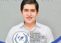 Esaú Abdiel Méndez es el nuevo Presidente del Consejo Nacional de Jóvenes en el estado de Colima