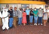 Apoya Indira Vizcaino desinfección de restaurantes en el corredor Real-Pascuales