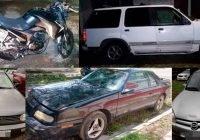 Continúa FGE trabajando en la recuperación de vehículos robados