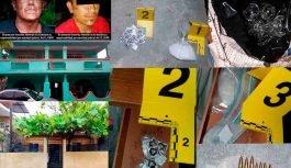 FGE decomisa droga y cartuchos en cateos; hay dos detenidos
