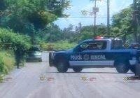 Detienen a tres hombres y una mujer por hacer detonaciones con arma de fuego en Tecomán