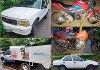 En Manzanillo y Colima FGE recupera cinco vehículos