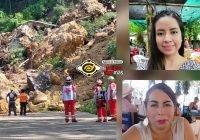Identifican a las dos mujeres fallecidas en el derrumbe rumbo a Mina; una era enfermera