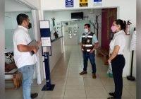 Verifican aplicación de medidas sanitarias por Covid-19 en escuelas