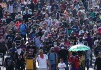 Inicia cuarta caravana de migrantes desde Tapachula Chiapas.