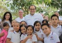 Uniformes escolares, programa ícono  del gobierno de Nacho Peralta