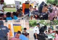 Trabaja municipio de Tecomán en colonias con acciones de prevención y fomento a los valores