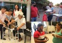 Beneficiamos a más de 2500 familias a través de programas y diversos apoyos: Salvador Bueno
