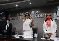 La legisladora Viridiana Valencia Vargas es la presidenta de la Mesa directiva del Congreso Local