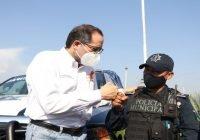 Entregó Nacho Peralta cerca de 300  patrullas que fortalecieron la seguridad